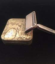 "Vintage Ever-Ready ""1924"" shovel head razor in original tin box image 2"