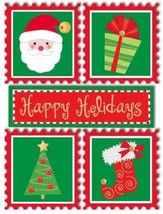 Sandylion Essentials Medium Dimensional Stickers, Happy Holidays #PESM25