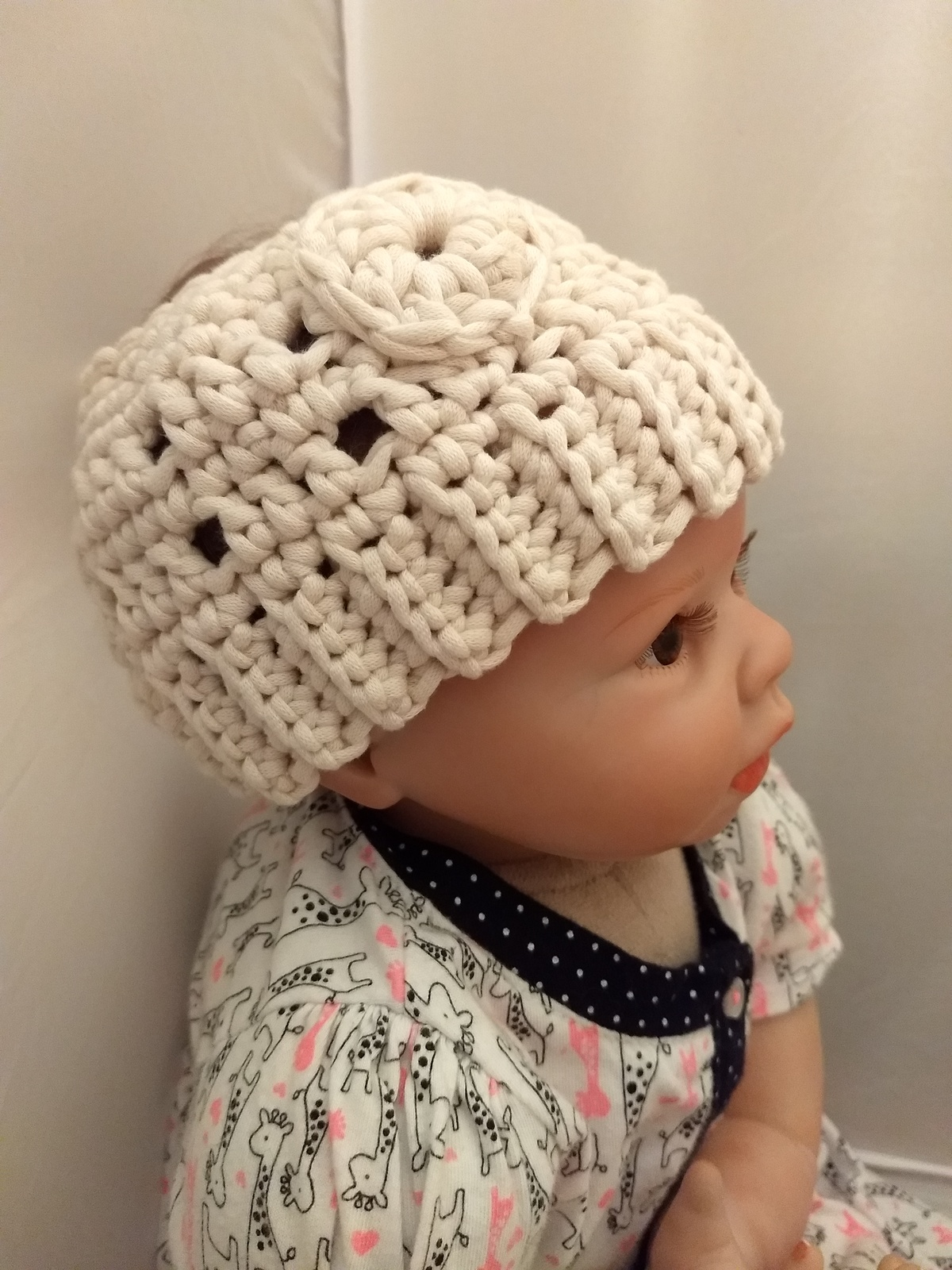198eff767a6eb Messy Bun Winter Hat for Baby or Toddler and similar items