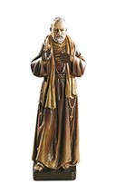 """7.87"""" Saint St. Padre Pio Statue Toscana Milagros Avalon Gallery Collect... - $38.68"""