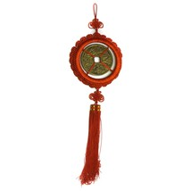 Feng Shui Handmade Brass Chinese Large Ancient Coin (5diameter) Hangin... - $19.77