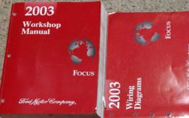 2003 Ford Focus Service Réparation Atelier Manuel Usine OEM Set Avec Ewd - $139.40