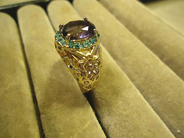 << ELOPING FLOWER RING  **SIZE 6.0**   >>  WE COMBINE SHIPPING   (11 - $5.69
