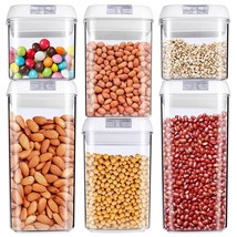 Food Storage Container Air Tight Cereal & Dry Food Plastic BPA Free 6 Pi... - $44.63