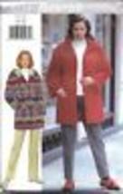 4724 Uncut Butterick Pattern Misses Loose Jacket Pants Sewing Vintage Oop Ff - $4.88