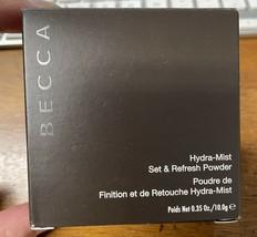 BECCA Hydra-Mist Set & Refresh Powder New in box - $19.80