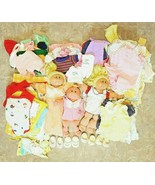 Lot of 96 3 Cabbage Patch Kids Dolls 93 outfits socks shoes tops bottoms... - $299.99