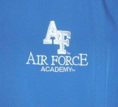 "USAF US Air Force Academy Holloway brand men's X-Lg ""warmup"" jacket/windbreaker - $40.00"