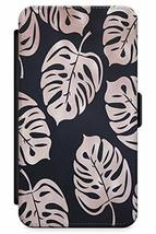 Case Warehouse iPhone 6 Plus Case, Designer Fashion Black Tropical Palms... - $12.69