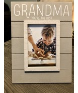 """Burnes Of Boston 4x6 Frame """"Grandma You're The Best"""" Great For Birthday ... - $16.82"""
