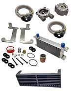 Zoom Zoom Parts 1987-2004 Yamaha Warrior 350 yfm Oil Cooler Kit Set Upgr... - $174.95