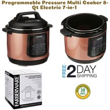Programmable Pressure Multi Cooker 8-Qt Electric 7-in-1 Instant Pot Fast... - $70.50