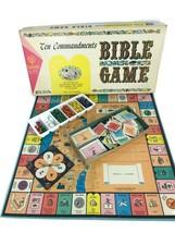 Vintage 1966 Ten Commandments Bible Christian Board Game All Faiths Cadaco - $23.33