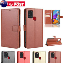 For Samsung A11 A21S A51 A71 5G A20 A30 Wallet Case Leather Card Flip Slim Cover - $62.86