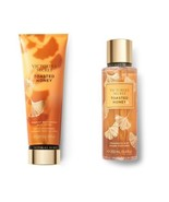 2 Pc Victoria's Secret Limited Edit Toasted Honey Fragrance Mist & Cream... - $25.23