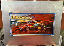 Disney Parks DCA Cars Land Lightning Speed Deluxe Print by Chip Foose Ne... - $94.98