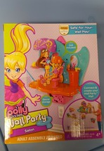 NEW Polly Pocket Wall Party Beauty Salon Playset, Use alone or w/Wall Party - $36.99