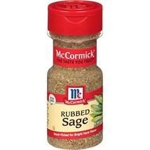 McCormick Rubbed Sage, 0.5 oz - $10.84
