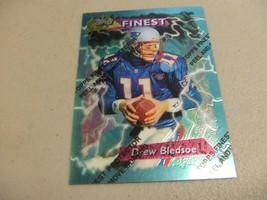1995 Topps Finest w/peel #230 Drew Bledsoe -New England Patriots- - $3.12