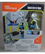Monster High Mega Construx Miniature Doll Voltageous Laboratory Frankie ... - $9.40