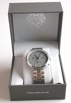 Vince Camuto VC/1098GYSV Men's  Stainless Steel Watch * preowned * image 8