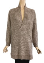 Vince Shawl Collar Multi Knit Long Pullover Sweater XS NWT $485 - $325.00