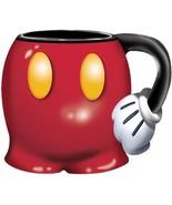 Disney Mickey Mouse Shorts Jumbo 18oz Scuplted Mug Tea Coffee - $18.49 CAD