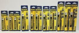 """Irwin Turbomax 11/64"""" 13/64"""" 15/64"""" 17/64"""" 19/64"""" 21/64"""" 27/64"""" 31/64"""" Drill Bit - $70.28"""