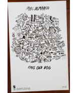 """Mac Demarco """"This Old Dog"""" 11"""" x 17"""" Promo Poster - $9.95"""