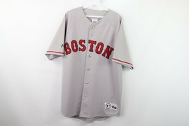 Vintage Majestic Mens Large Stitched Boston Red Sox MLB Baseball Jersey ... - $79.15