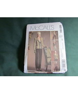 MCCALLS MISSES TOTAL OUTFIT PANTS BLAZER SEWING PATTERN SZ 6 TO 12 - $5.50