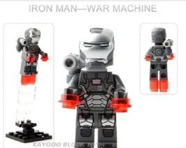 Sale Super Hero Armored Building Block Brick Figures For Children Toy 0160 - $0.90