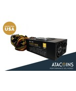 ATACoins Pulsar 1600W 110V-260V Mining PSU Power Supply w/14awg Cord Ubi... - $168.29