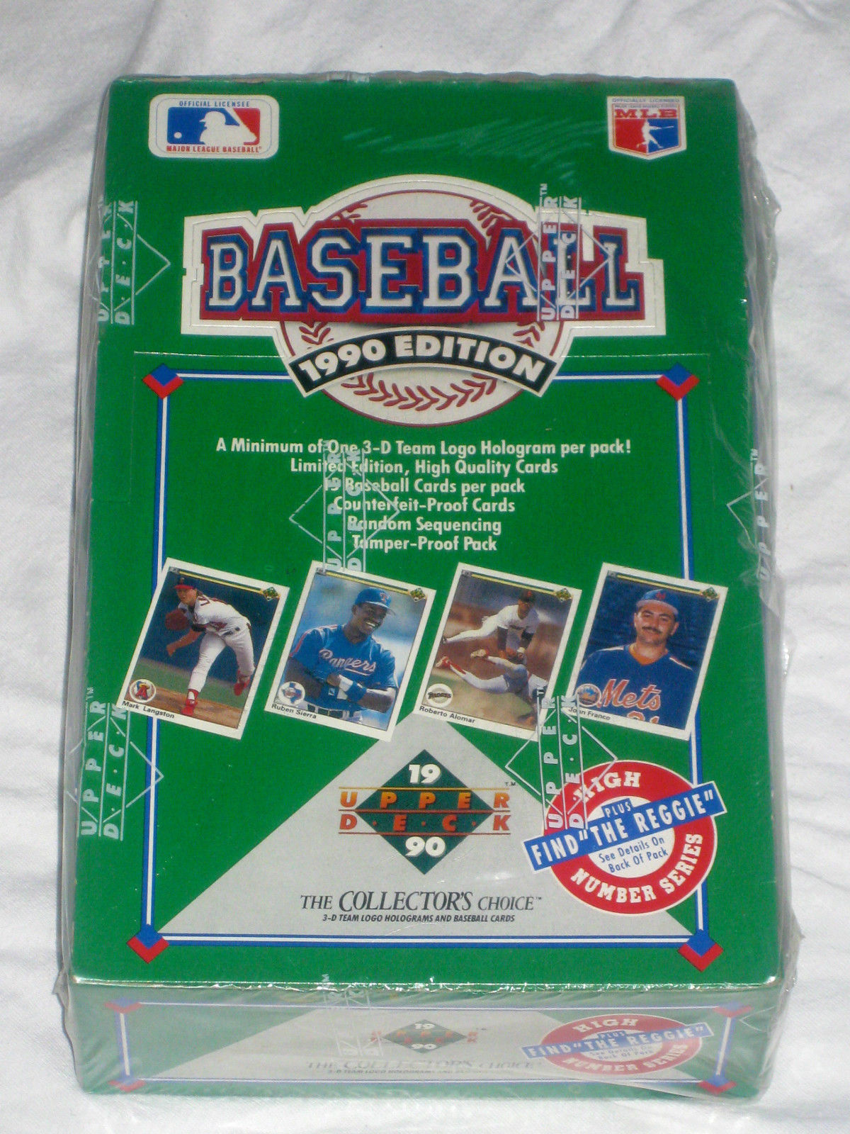 1990 Upper Deck High # Baseball Card Wax Box and 50 similar