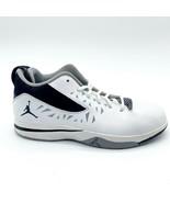 Jordan CP3.V (PS) White Black Cement Grey Kids Size 3 Chris Paul 487430 104 - $69.95
