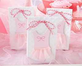 24 Tutu Cute Favor Bags Ballerina Baby Shower Favors Baby Girl Shower Favors - $23.76