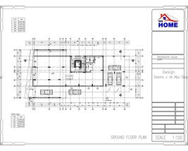 Residential And commercial Building Plans 12 Bedroom 13 Bathroom With Ga... - $98.99