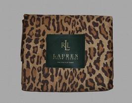 Ralph Lauren ARAGON Leopard BOHEMIAN X-Deep Cal King Sateen Fitted Sheet... - $185.99