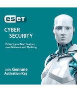 ESET Cyber Security for MacOS 5PCs 1 Year, Nepal License Key in eBay Mes... - $19.19 CAD