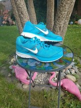Nike Air Womens Trainers Size 7 Blue Pegasus 29 Mesh Running Shoes fitso... - $27.20