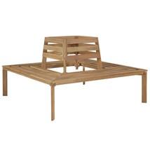 "vidaXL Solid Acacia Wood Tree Bench 55.1"" Patio Outdoor Seat Relaxer Fur... - $209.99"