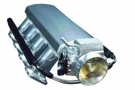 TALL FABRICATED GM LS LS1 LS2 LS6 INTAKE MANIFOLD W/ FUEL RAILS & THROTTLE BODY