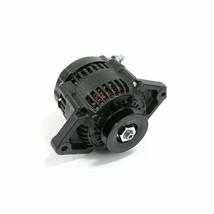 Mini Race Alternator Denso Style High Amperage 90 Amp Black Finish image 1