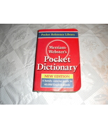 merriam  websters  pocket  dictionarycket - $4.99