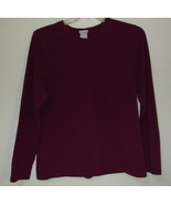 Womens Old Navy Burgundy Long Sleeve Top Size XXL - $5.95