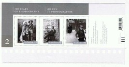 Canada Stamps 2014 Canadian 150 Years Photography Souvenir Sheet MNH USA... - $6.47