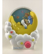 Fisher Price Teddy Beddy Bear Musical Wind Up Baby Crib Toy 80s Vintage ... - $31.14