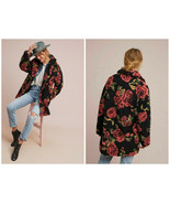 Anthropologie Winter Roses Coat by If By Sea Sz XL - NWT - $279.99