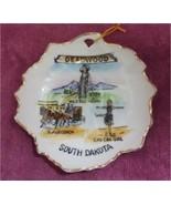 "South Dakota Souvenir Collectors 4 3/4"" Dish Deadwood Wild Bill Can Can ... - $12.99"
