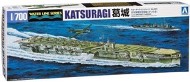 Aoshima Japan Navy Aircraft Carrier Katsuragi 1/700 Model Kit Water Line... - $52.80